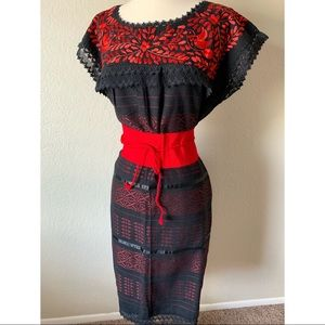Dresses & Skirts - NEW Hand Embroidered Mexican Dress